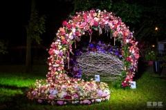 Aranżacje florystyczne noc